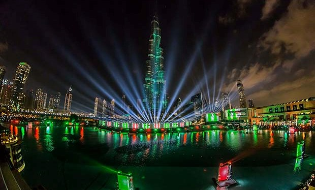 Dubai New Years  Eve 2014